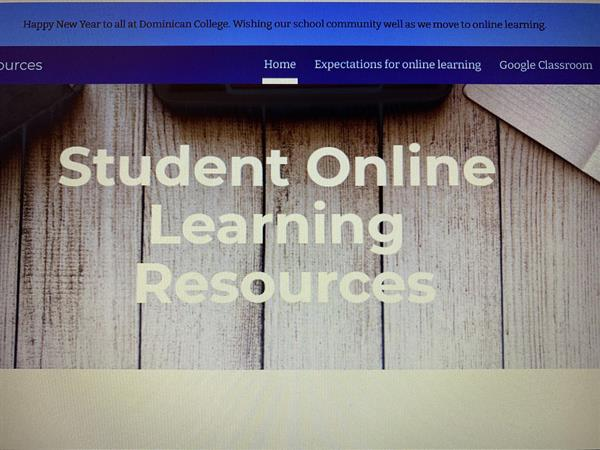 Student Online Learning Hub